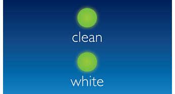 Tryb czyszczenia i wybielania: skuteczne usuwanie przebarwień